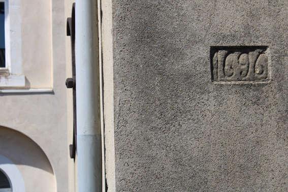 Visuel 1/7 : Inscriptions et graffitis (chapelle des Cordeliers)