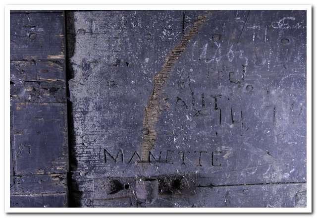Visuel 6/7 : Inscriptions et graffitis (chapelle des Cordeliers)