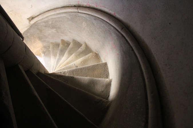 Visuel 2/5 : Tourelle d'escalier, voûtes et charpente (chapelle des Cordeliers)