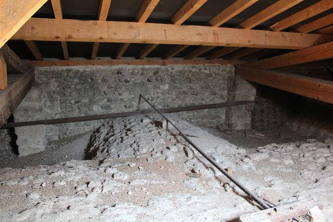 Visuel 4/5 : Tourelle d'escalier, voûtes et charpente (chapelle des Cordeliers)