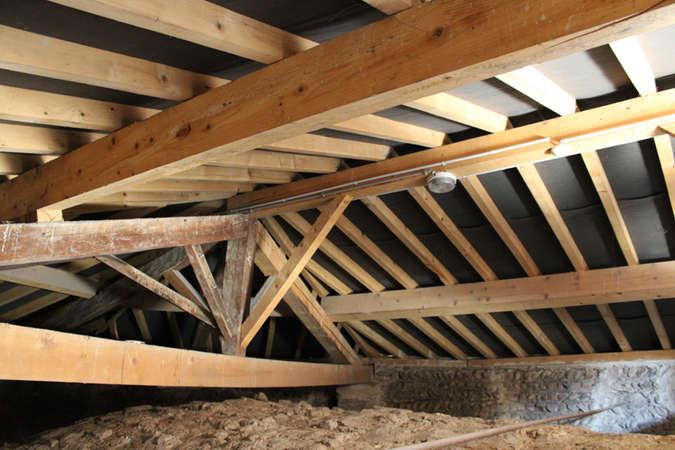 Visuel 5/5 : Tourelle d'escalier, voûtes et charpente (chapelle des Cordeliers)