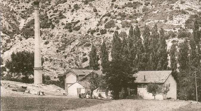 Visuel 1/1 : Usine hydroélectrique de Béconne (propriété privée)