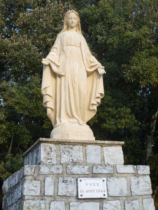 Visuel 1/1 : Statue de la Vierge du voeu
