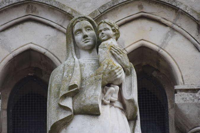 Visuel 1/1 : Vierge du voeu de Marsaz