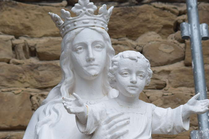 Visuel 1/1 : Vierge du v½u de Génissieux