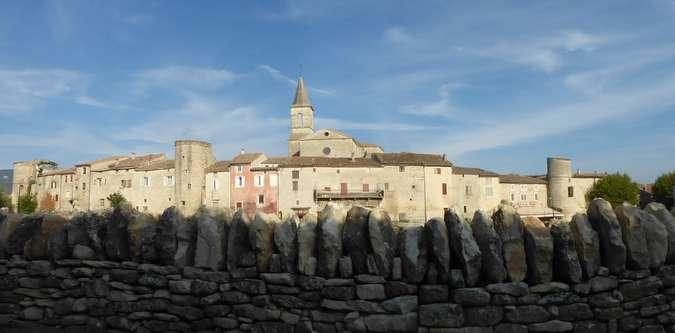 Visuel 1/1 : visite du bourg castral