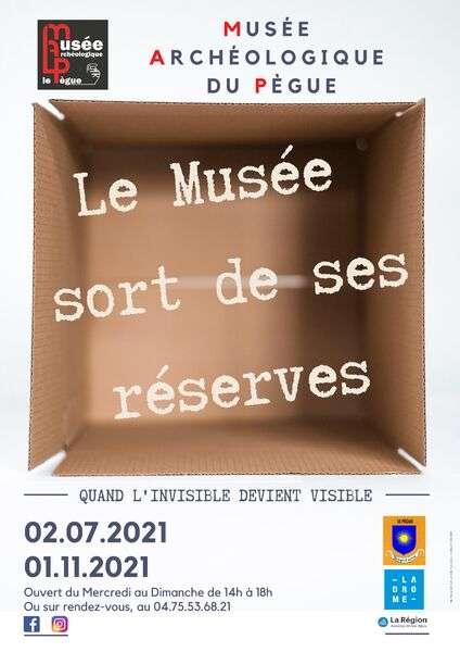 Visuel 1/1 : Le musée sort de ses réserves. Quand l'invisible devient visible !