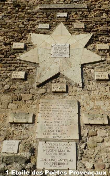 Visuel 2/2 : Etoile des Poètes Provençaux Locaux au vieux village