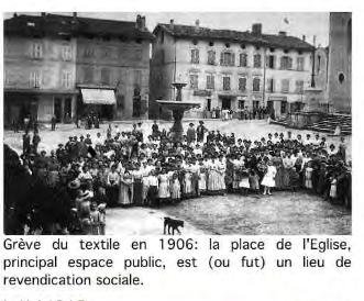 Visuel 1/2 : Usine textile Ancessy : grèves et lois sociales
