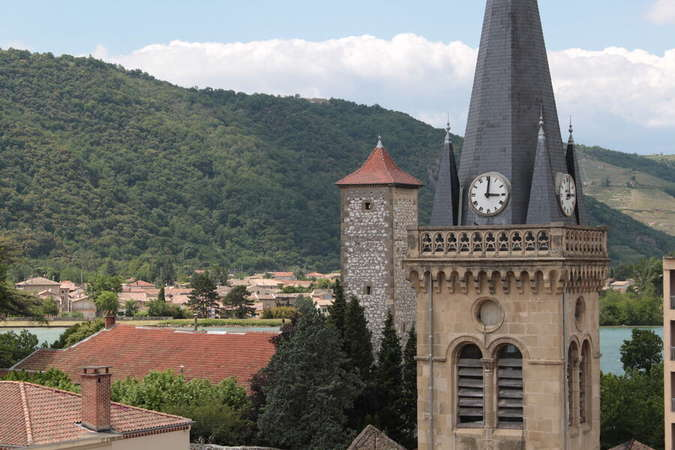 Visuel 1/1 : Visite libre de l'église de La Roche de Glun - Journées Européennes du Patrimoine