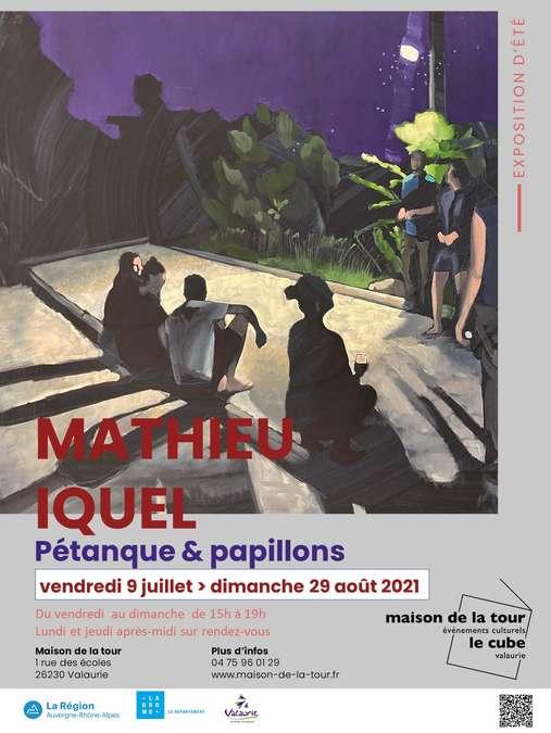 Visuel 1/1 : Exposition du peintre Mathieu Iquel :