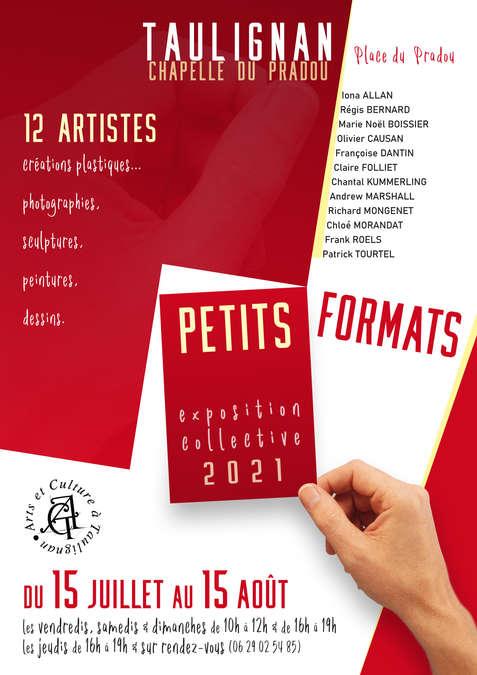 Visuel 1/1 : PETITS FORMATS 2021