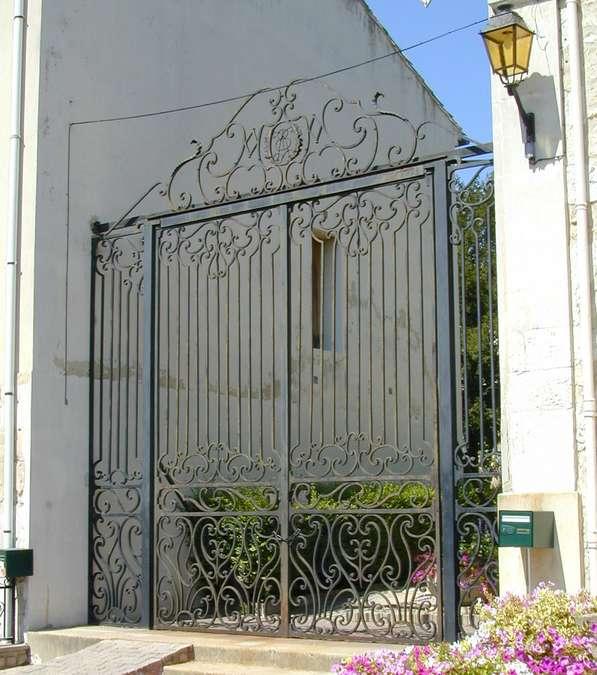 Visuel 1/5 : Ancienne grille de l'Hôtel Bouvier