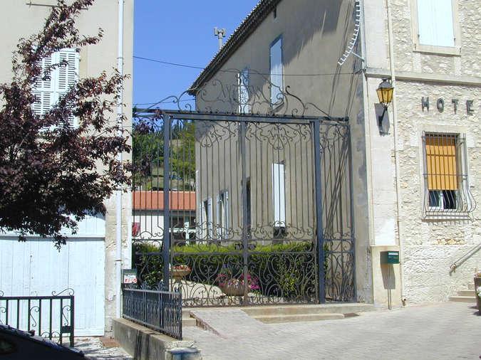 Visuel 2/5 : Ancienne grille de l'Hôtel Bouvier