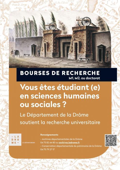 Visuel : Le Département de la Drôme soutient la recherche universitaire