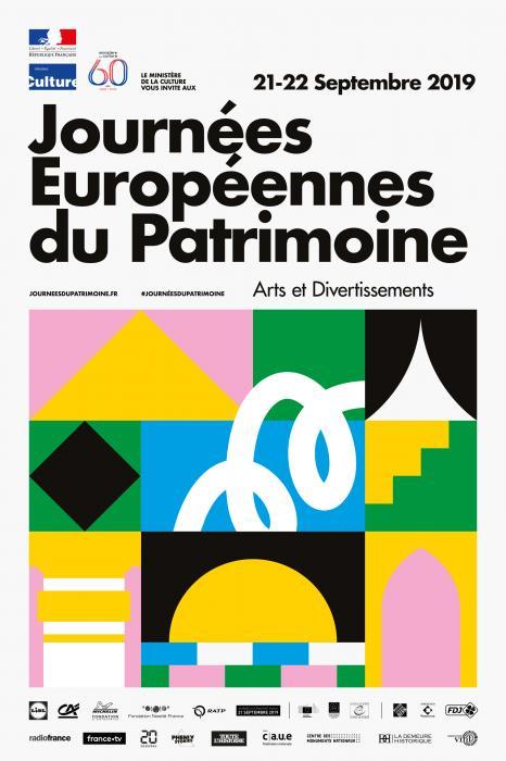 Visuel : Journées européennes du patrimoine 21 et 22 sept : inscrivez-vous sur la carte !