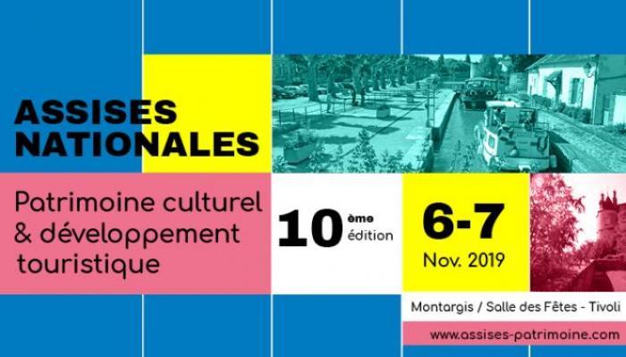 Visuel : La carte du patrimoine de la Drôme invitée aux 10e Assises nationales du patrimoine culturel et du développement touristique